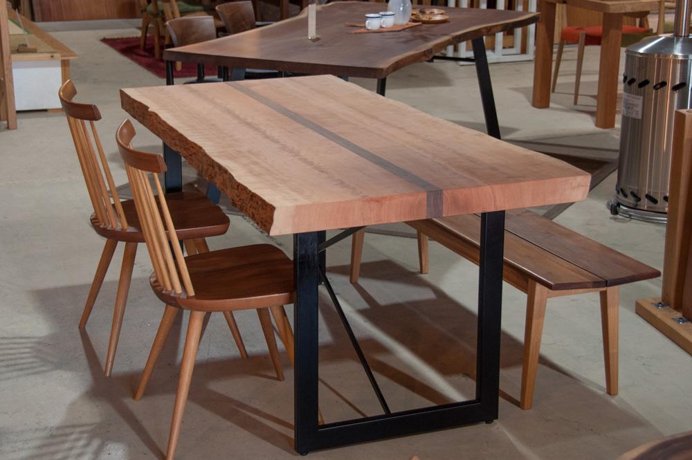 ブラックチェリーw1650(3枚接)オリジナルテーブルメイン画像