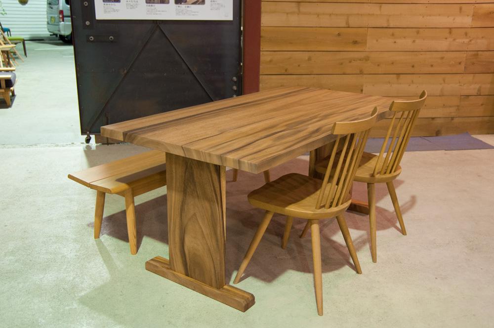 モンキーポッド w1630(接板)テーブルメイン画像