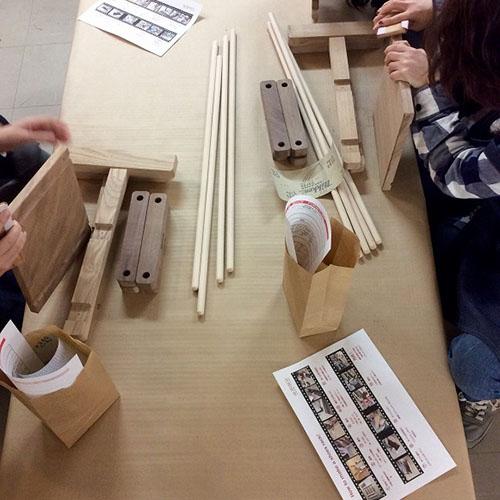 無垢材の木工教室