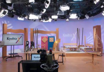 【メディア】 KBS京都テレビ『KyobizX』スタジオセットをリニューアル