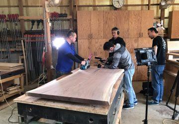 【メディア】 MBS放送「みがくひと」にダ・ボスコの家具職人が出演しました!