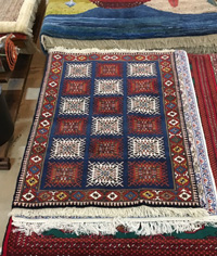 18552-Persian carpet 158×105 shiraz