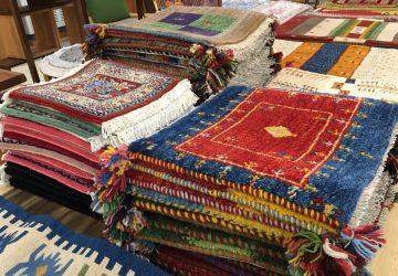 【 新着 】 10月20日から「ペルシャ絨毯・ギャッベ展」箕面店で開催!
