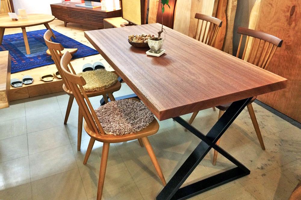 サペリ w1600 テーブルサブ画像