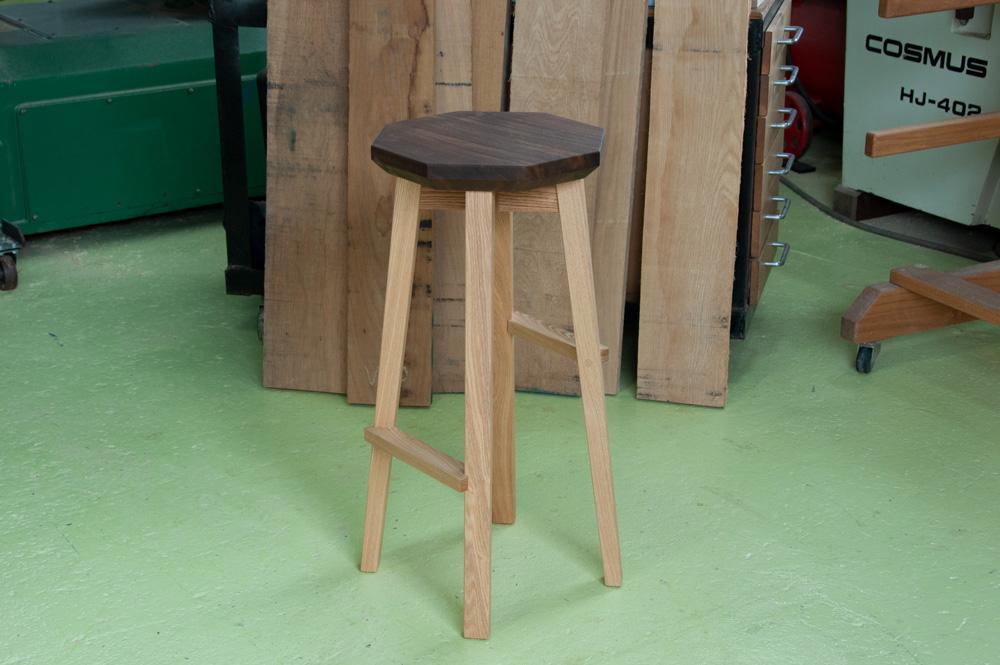 fetta stool Ⅱ high type 八角メイン画像