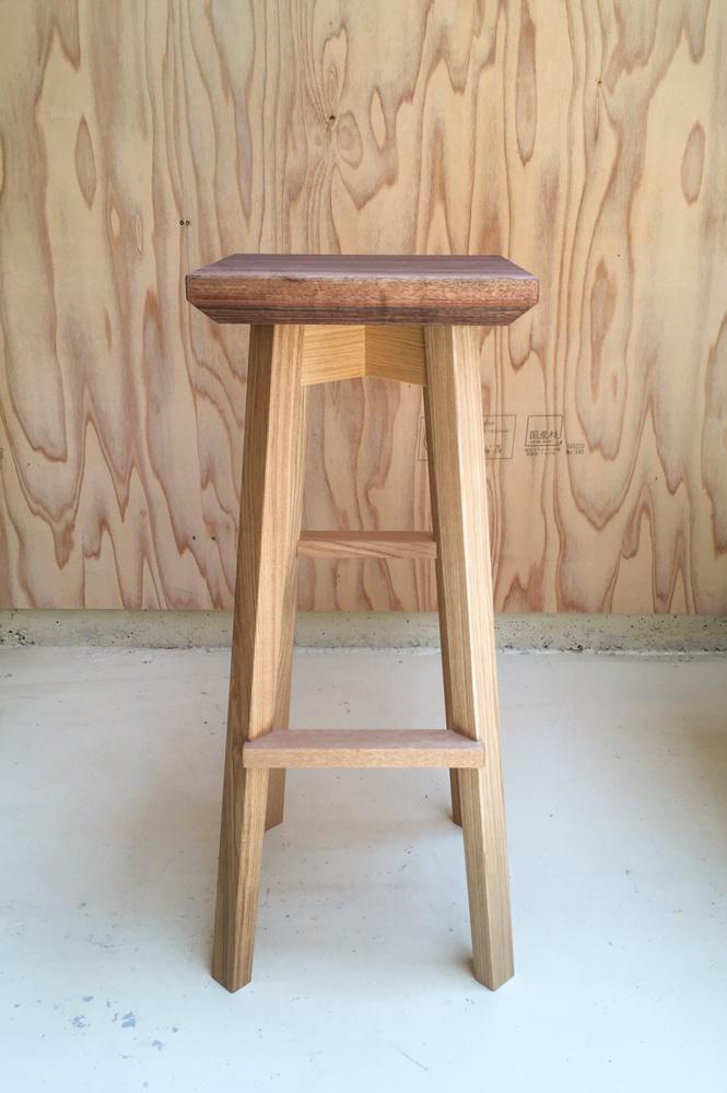 fetta stool Ⅱ high type 四角サブ画像
