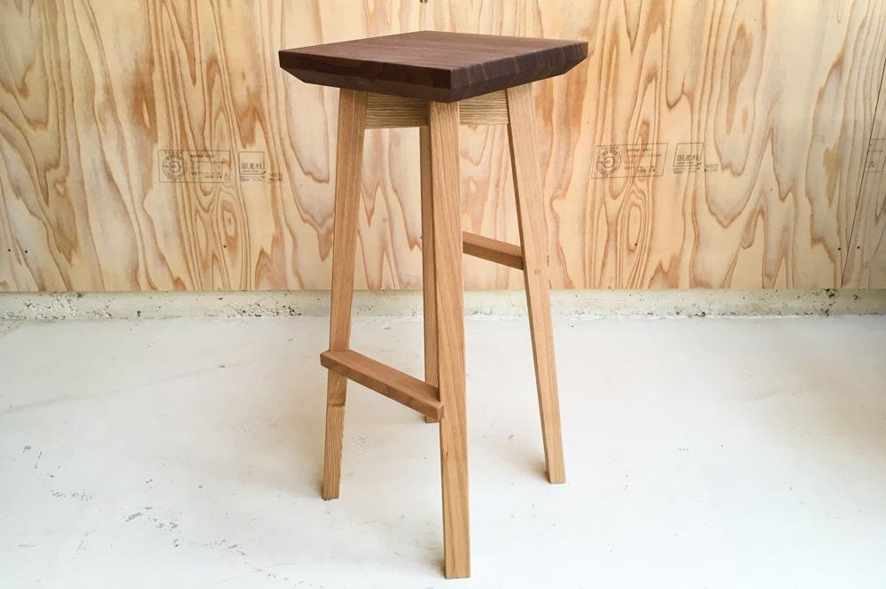 fetta stool Ⅱ high type 四角